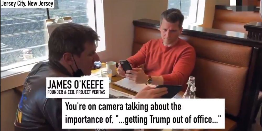 WATCH: James O'Keefe CONFRONTS CNN director who was busted admitting network spreads propaganda