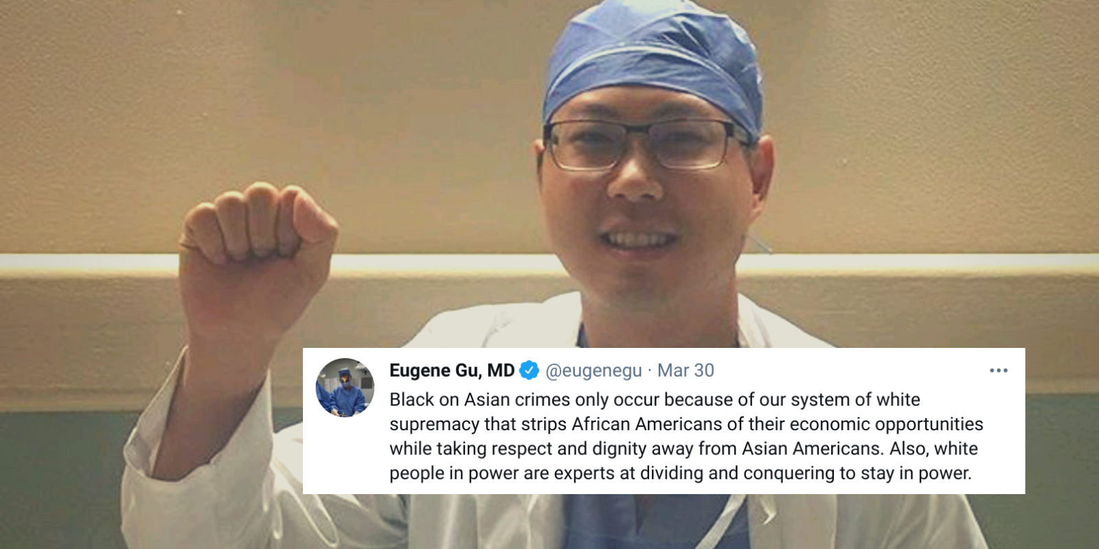 Notorious Anti-Trump doctor claims black-on-Asian crime occurs because of 'white supremacy'