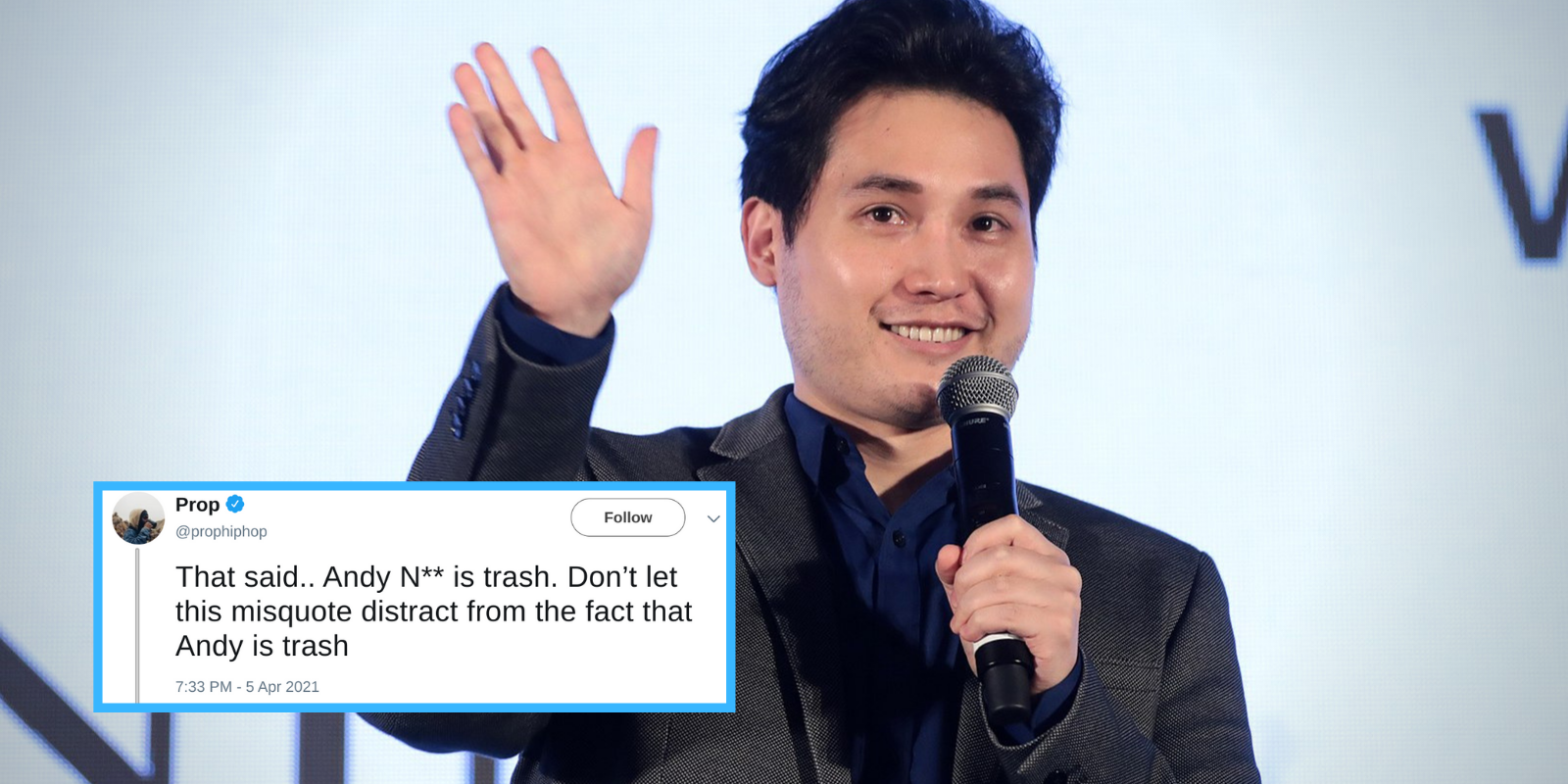 Andy Ngo deplatformed by Christian conference after complaint by BLM activist