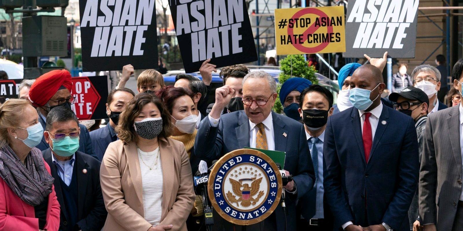 Senate passes bipartisan bill to combat anti-Asian hate crimes: 'Bigots, we're going after you'