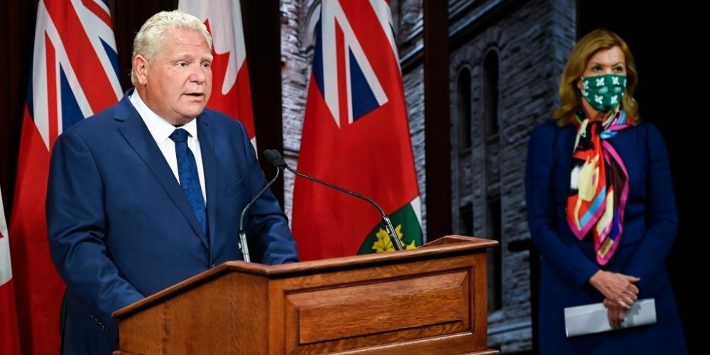 Ford government to implement new lockdown orders in Ontario