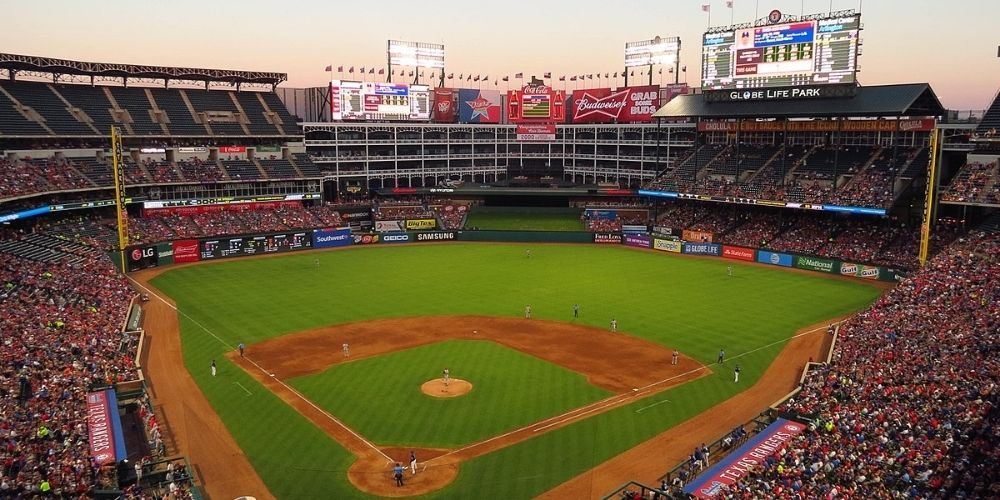 WATCH: Texas Rangers pack stadium for home opener amid on-going pandemic