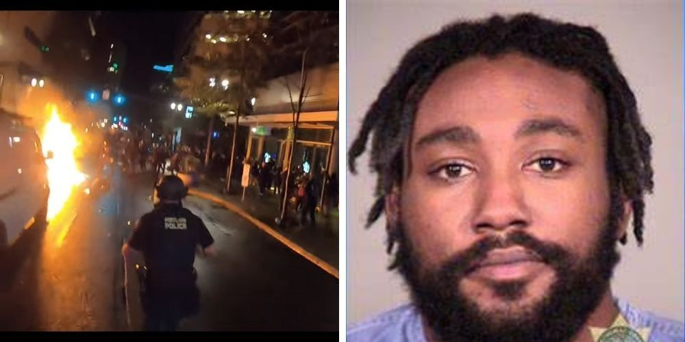 Man suspected of firebombing Portland police officers arrested for attempted murder