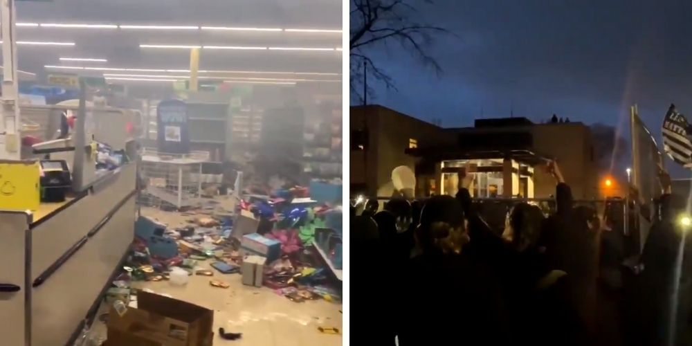 Brooklyn Center and Minneapolis rocked by second consecutive night of looting and riots