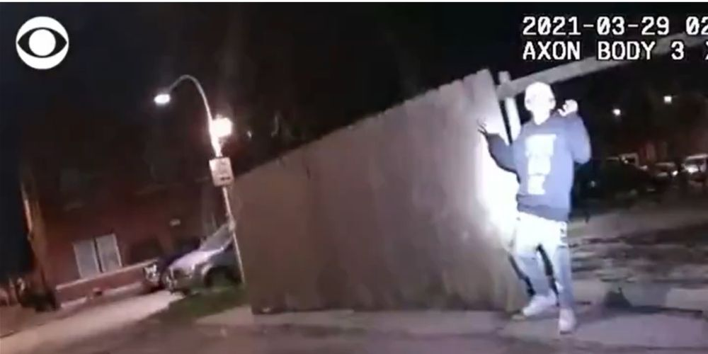 CBS called out on social media for cropping bodycam video of Adam Toledo holding a gun before fatal shooting