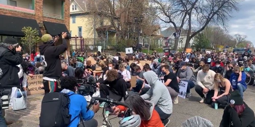 BLM activists call off rally for 'victim,' after learning he was white