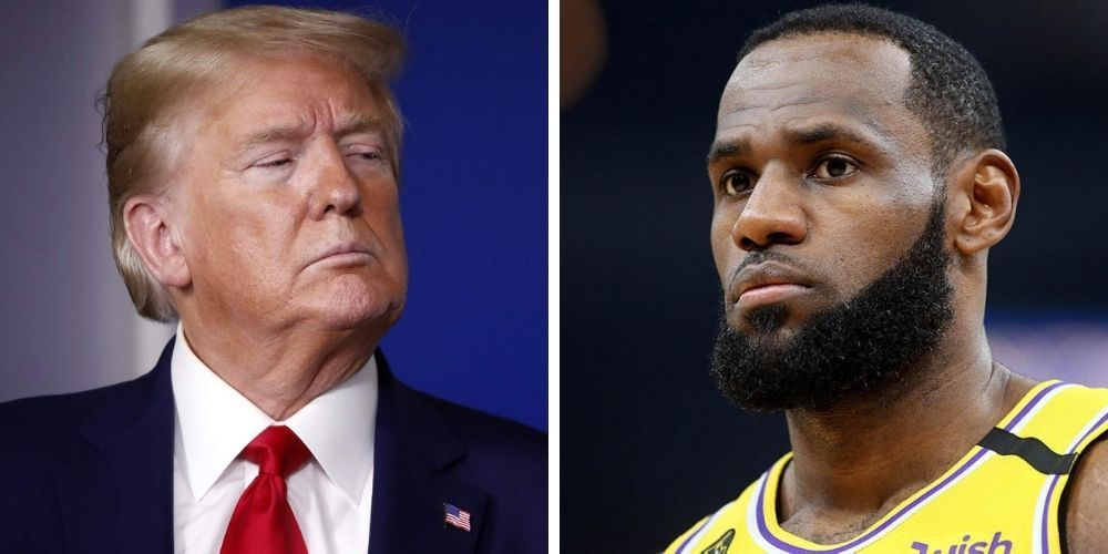 BREAKING: Donald Trump slams LeBron James in scathing new statement