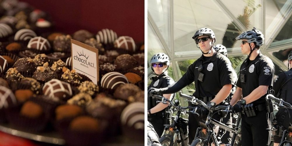 EXCLUSIVE: Seattle Police officers refused service at local chocolate shop