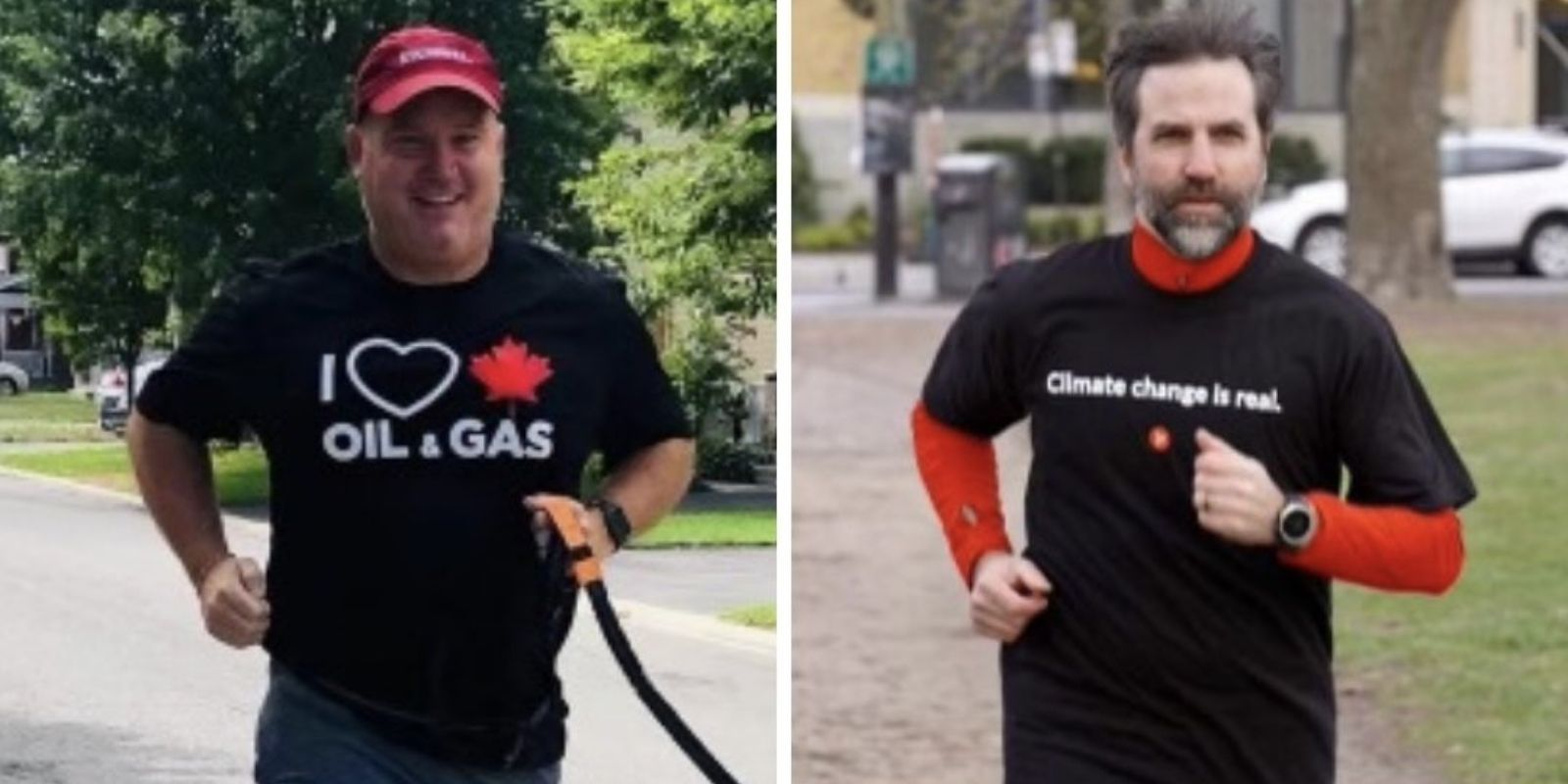 Trudeau minister mocks Erin O'Toole by wearing 'Climate change is real' shirt for Earth Day