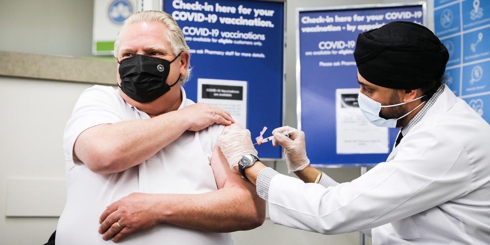 Doug Ford tests negative, isolates after exposure to COVID