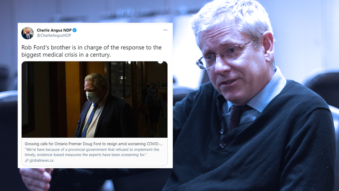NDP ethics critic attacks Ontario premier's dead brother