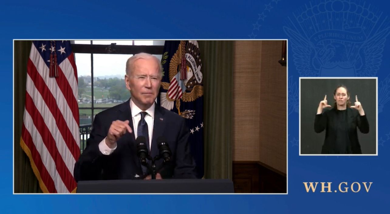 BREAKING: Biden announces troops withdrawal from Afghanistan will begin May 1