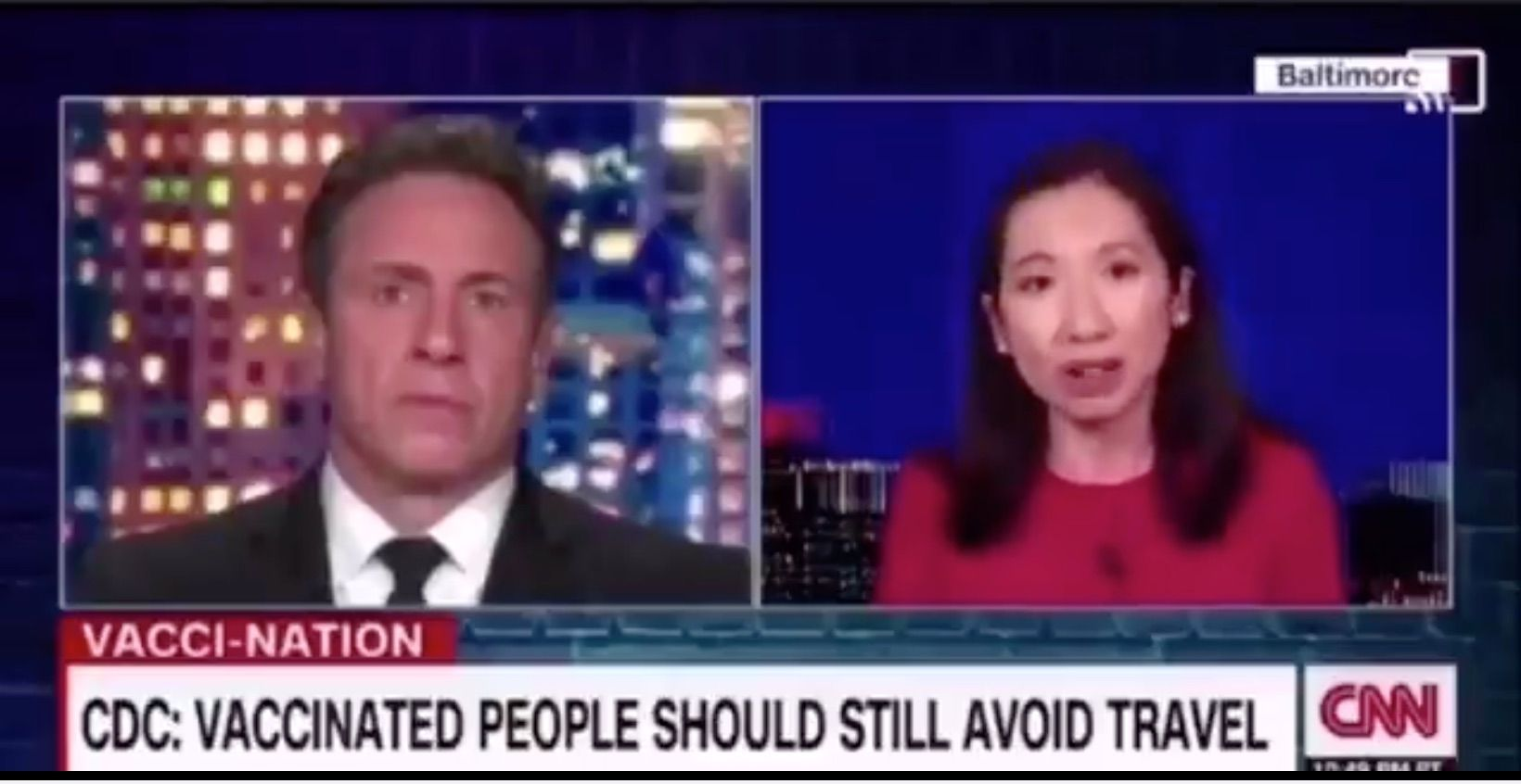 CNN 'expert' proposes withholding Americans' basic freedoms if they don't get vaccine