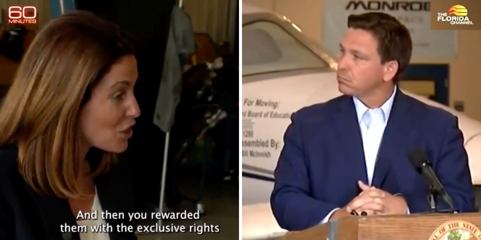 WATCH: 60 Minutes deceptively edits DeSantis' comments on vaccine rollout in attempt to implicate him in 'pay-to-play scheme'