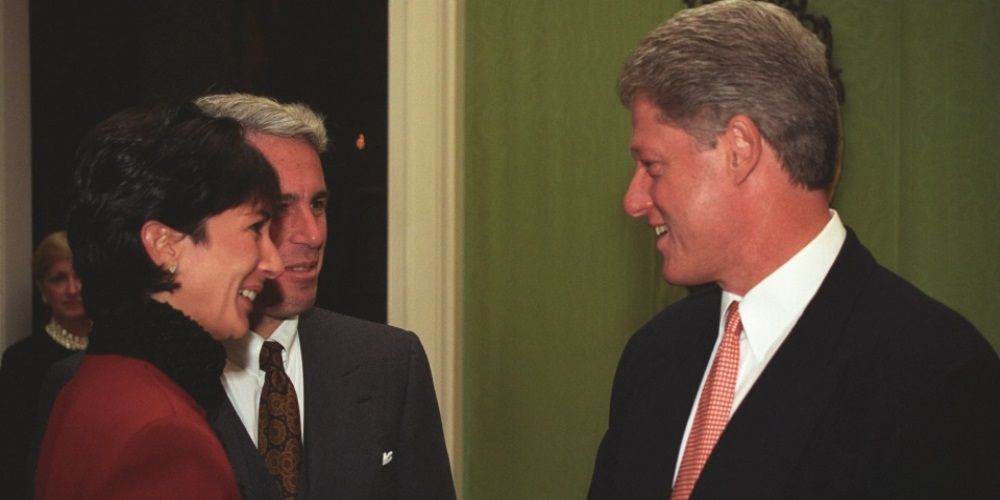 Photos emerge of Jeffrey Epstein, Ghislaine Maxwell meeting Bill Clinton in the White House