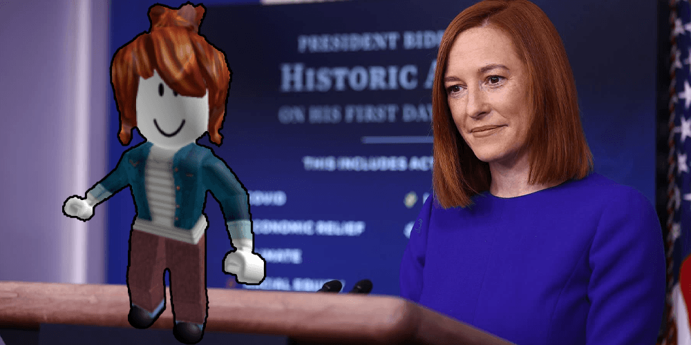 Fake news reporter infiltrated White House press briefings to ask Jen Psaki real questions because 'real' journalists are 'doing a pretty bad job'