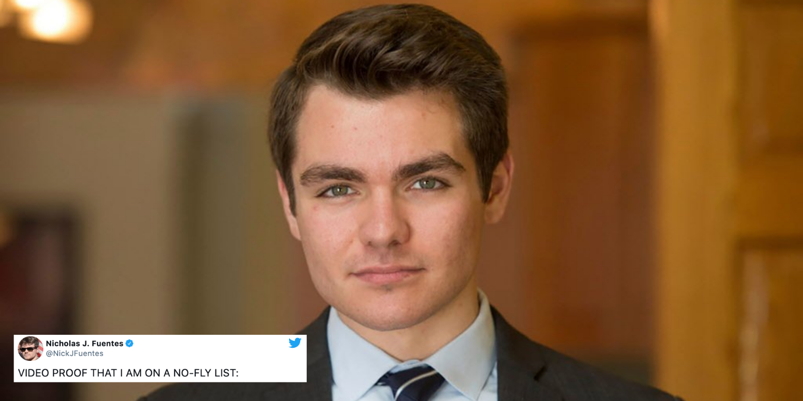 Controversial right-wing provocateur Nick Fuentes reportedly placed on 'no-fly list'