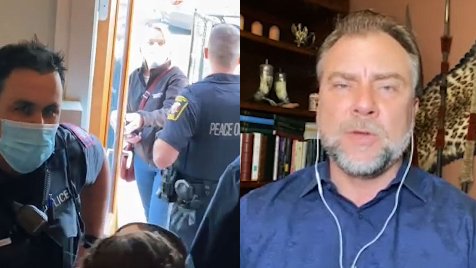 WATCH: Pastor speaks out after confrontation with Calgary Police