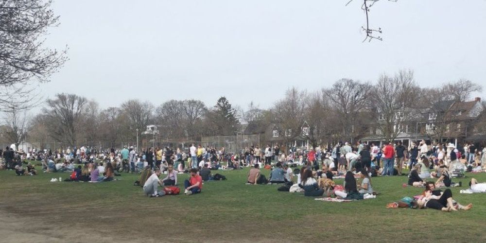 Toronto's Trinity Bellwoods Park to bring back social distancing circles