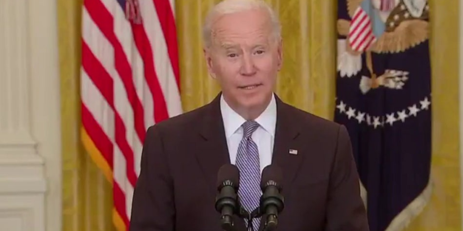 WATCH: Joe Biden says 'those who are not vaccinated will end up paying the price'