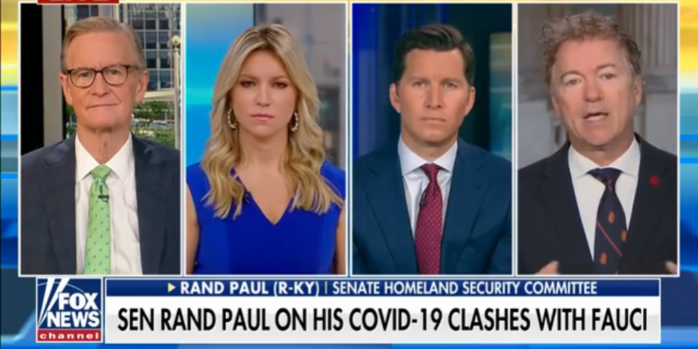 'That looks like a cover-up': Senator Rand Paul slams Fauci for avoiding questions on Wuhan research