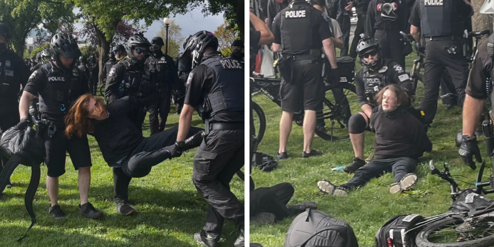 14 arrested in Seattle as Antifa marches on May Day, child assaulted