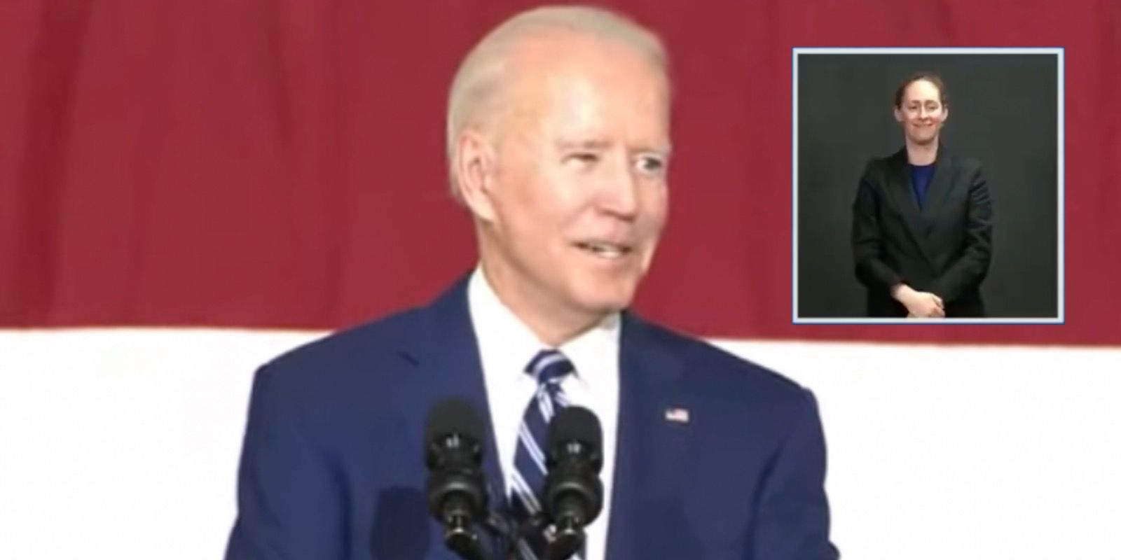 WATCH: Joe Biden spots young girl in audience, creepily says she looks like a 19-year-old