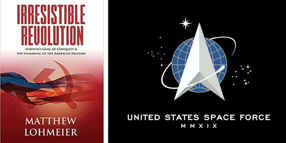 Space Force commander who was fired after speaking out about BLM/Marxism becomes Amazon bestselling author