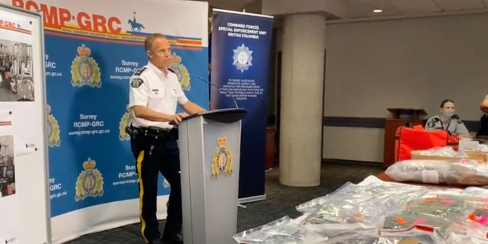 RCMP bust drug lab with enough fentanyl chemicals to produce '13 million fatal doses' per week