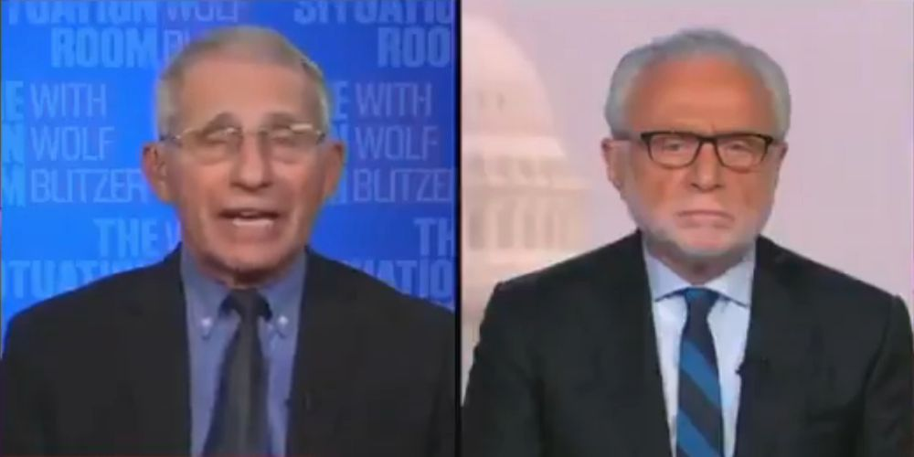 WATCH: Dr. Fauci says we're 'at least halfway through' or in 'the bottom of the sixth inning' in the fight against COVID