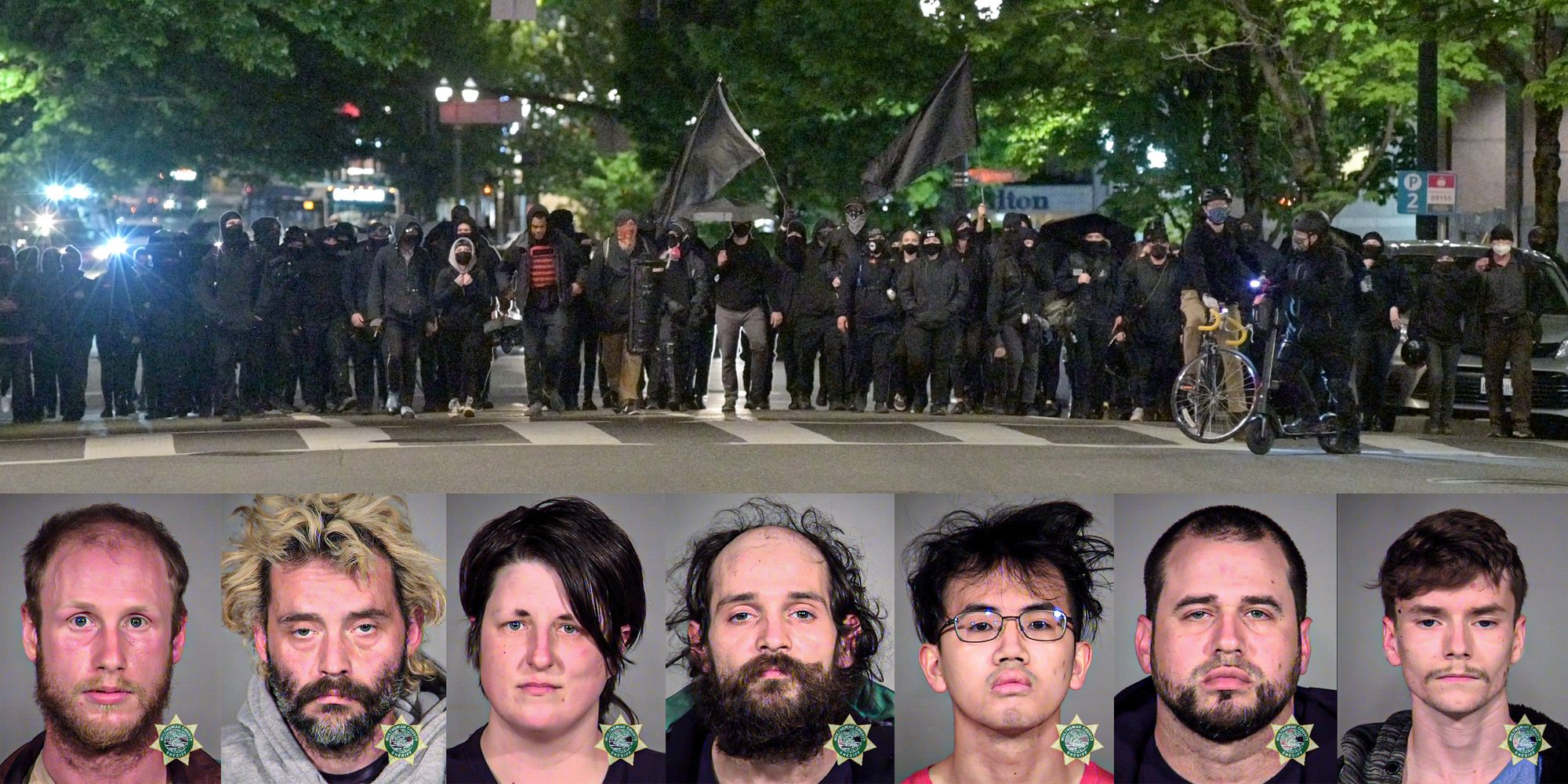 Portland Antifa May Day rioters charged with felonies by district attorney