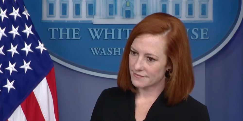Psaki stresses new mask-wearing guidance comes from CDC, not government