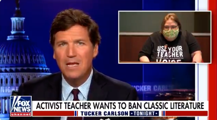 WATCH: Tucker Carlson exposes divisions over critical race theory in American schools