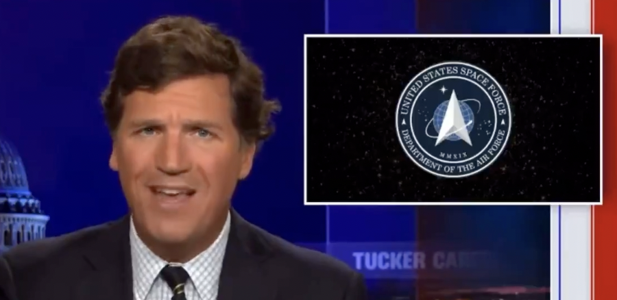 WATCH: Tucker slams Space Force for firing commander who spoke out against Marxism and Critical Race Theory