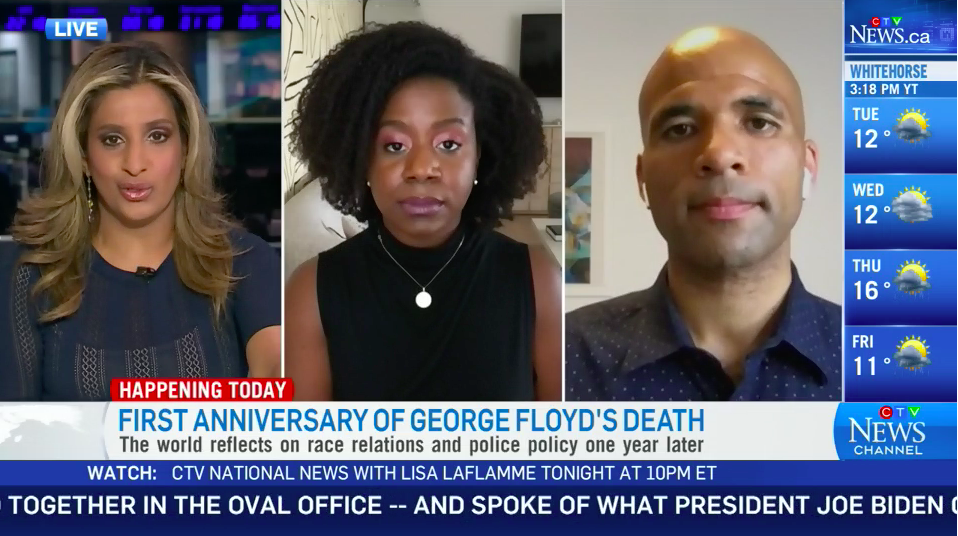 WATCH: BLM Toronto leader says she's 'enraged' by Trudeau's lack of action, cites American statistics