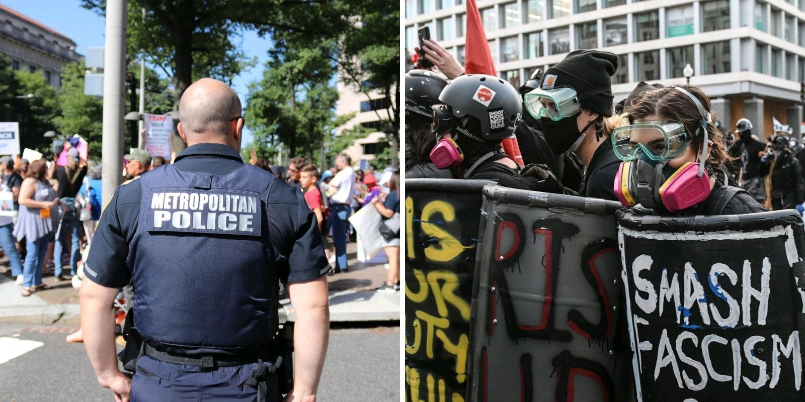 'No moral compass': Leaked internal DC police training on Antifa details group's violence against civilians