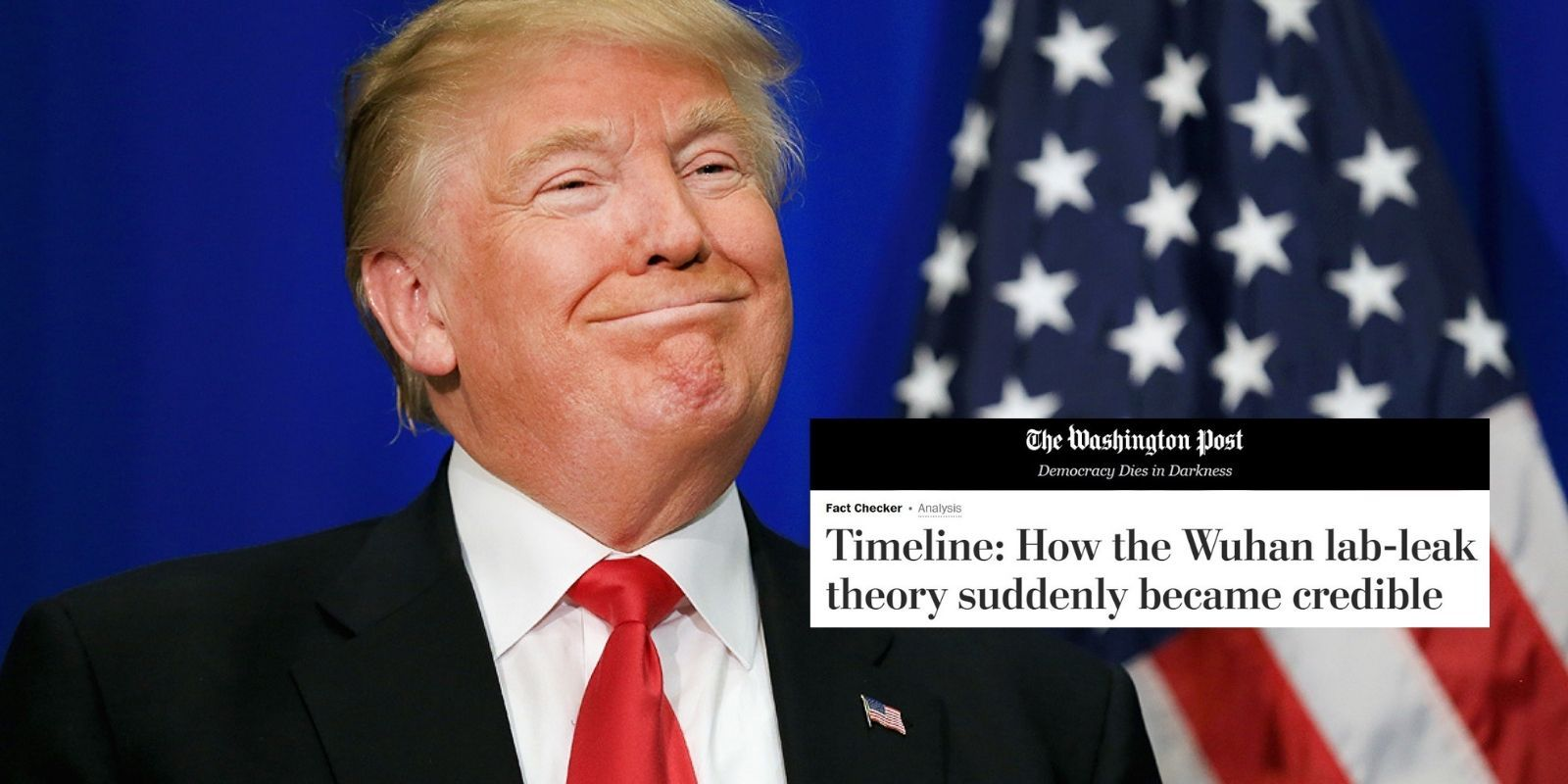 Establishment journalists confess they dismissed Wuhan lab leak theory because Trump said it
