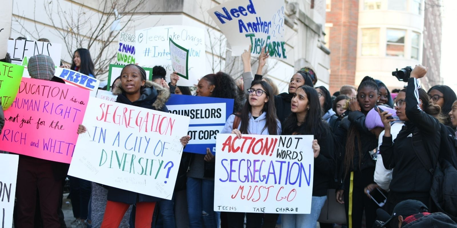 Student activists weaponized against parents who oppose removing merit-based school admissions in New York