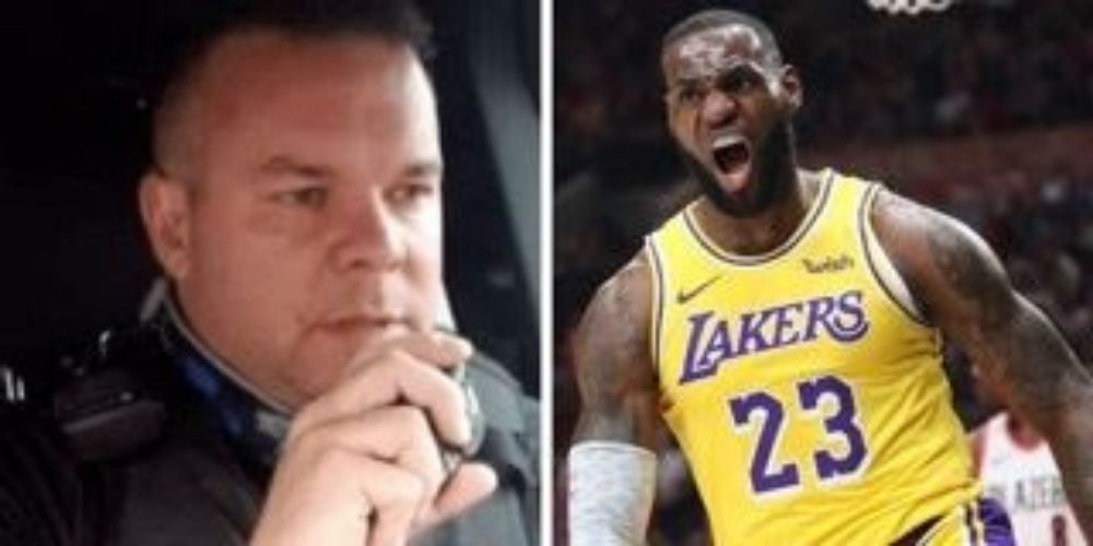 Viral TikTok cop who mocked LeBron James returns from suspension, announces book deal