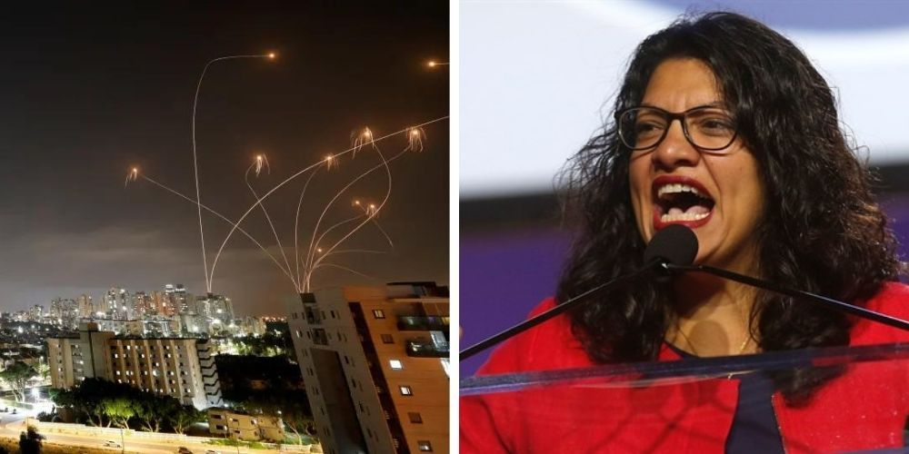 Rashida Tlaib accusses Israel of ethnic cleansing while Hamas launches hundreds of rockets at civilians