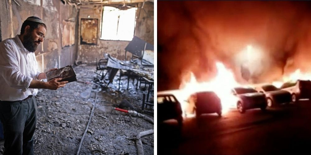 Arab mobs set synagogues on fire in Israeli city, 'Kristallnacht in Lod'
