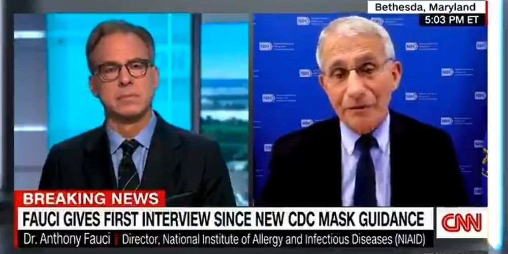 Fauci says parents have to mask-up their kids until they're fully vaxxed