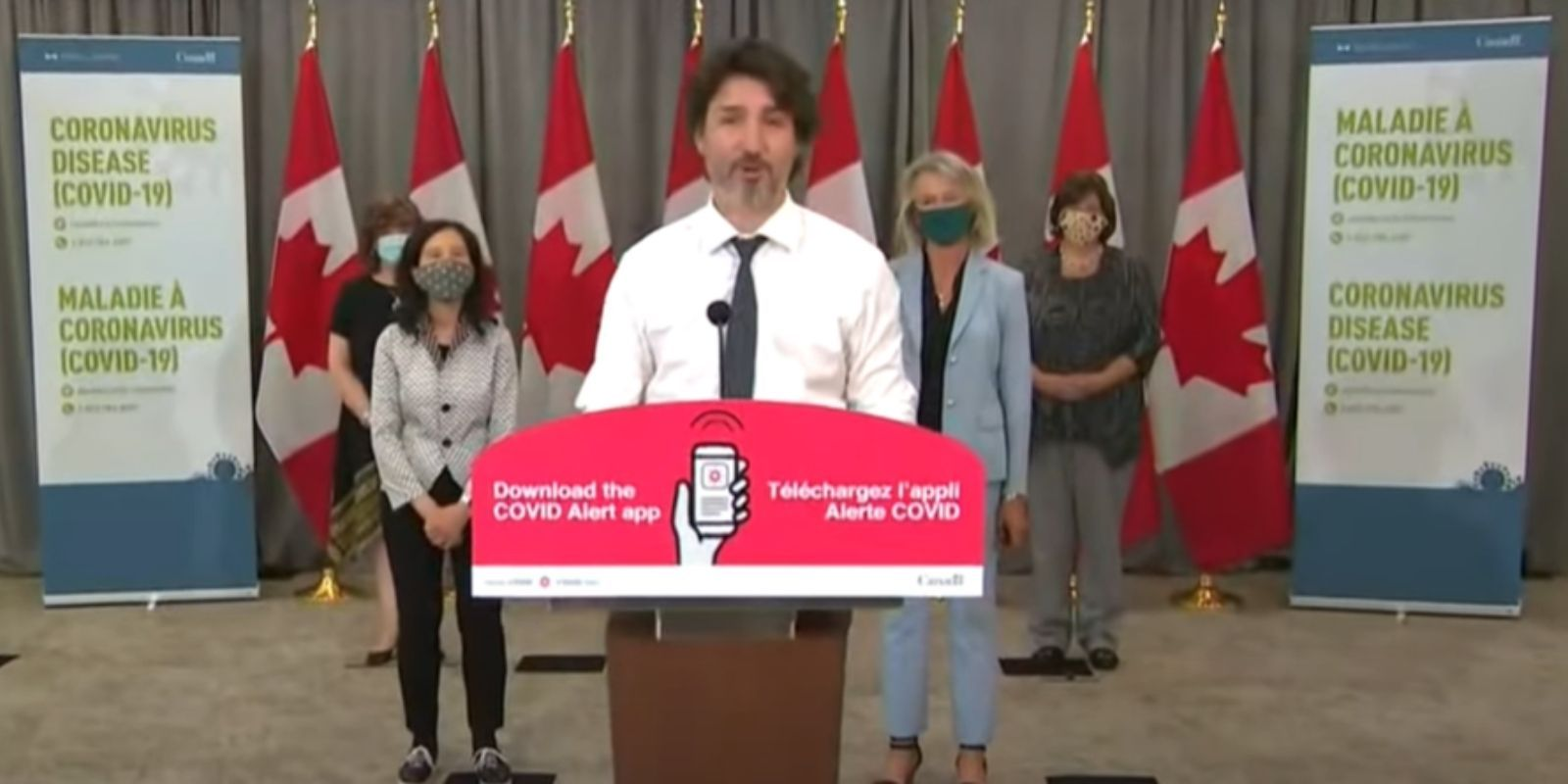 REVEALED: Trudeau's COVID app was collecting your data all along