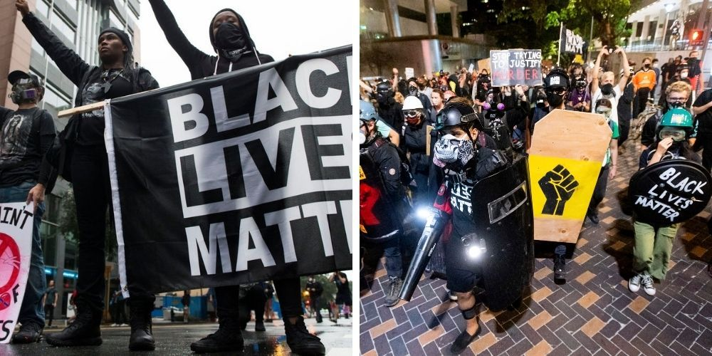 Black Lives Matter lost support and popularity in 2020, new reports say