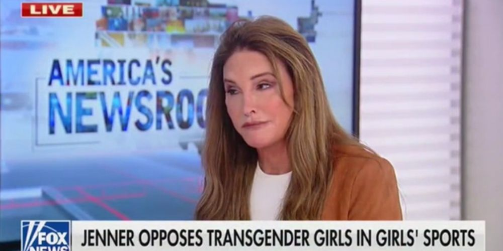 Caitlyn Jenner says boys who transition 'very young' should be allowed to compete in women's sports