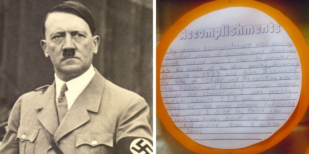 EXCLUSIVE: NJ fifth-grader dresses as Adolf Hitler for class presentation, 'I was pretty great wasn't I?'