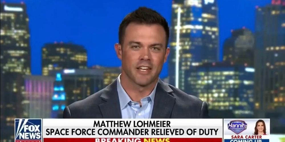 WATCH: Space Force Commander speaks out after being fired for warning against Marxism and Critical Race Theory in the military