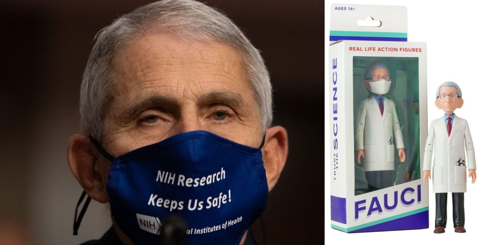 New Dr. Fauci action figure now available for 'Fauci fans' of all ages