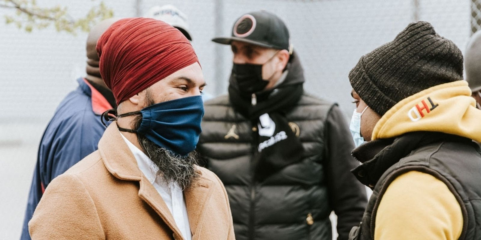 Jagmeet Singh claims there's a connection between anti-lockdown protestors and right-wing extremism
