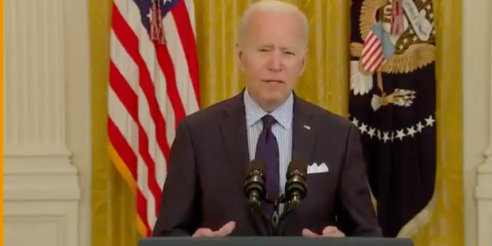 DAMAGE CONTROL: Biden tries to put horrific jobs numbers 'in perspective'